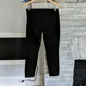 J. Crew Pants - J.crew black stretch cotton Minnie cropped pants